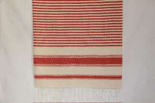 Narrow Berry Stripes Fouta