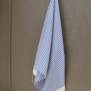 Blue Striped Noosa Beach Towel
