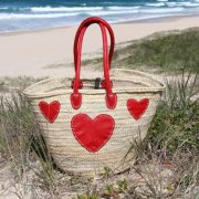 Red Heart Basket