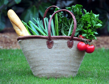 Jute Covered Basket