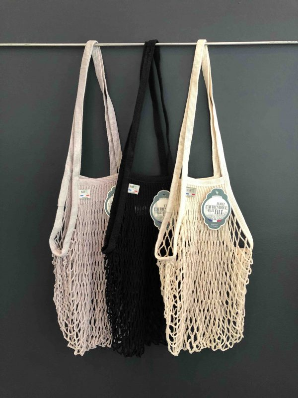 3 French String Bags