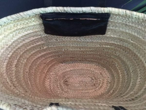 Inside detail of a basket