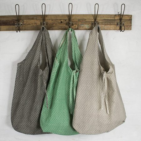 Reusable Bags on a coat rack