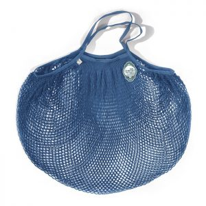Extra large blue string bag