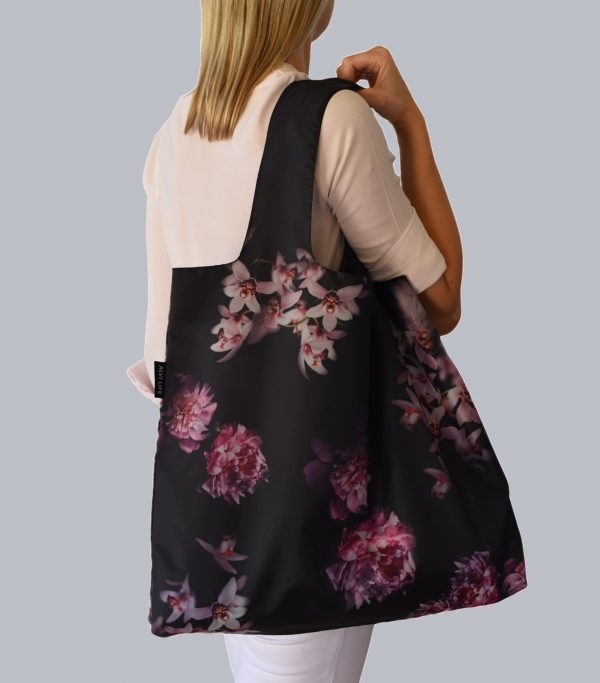Alvi Life Reusable Bag with Peonies and Orchids