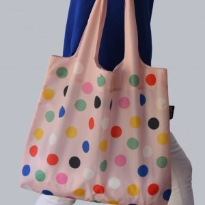 Alvi Life Reusable Bag with Polka Dots