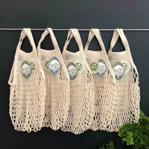 5 French String Bags