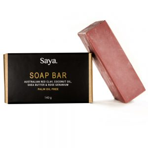 Red Soap Bar